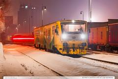 914.062-5 | Os14233 | trať 331 | Lípa nad Dřevnicí (jirka.zapalka) Tags: winter train trat331 rada814914 os cd lipanaddrevnici stanice snow