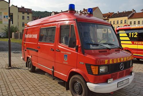1994 Meßfahrzeug Gerätewagen (GW-Mess) Mercedes-Benz 310-KA Freiwillige Feuerwehr Meiningen