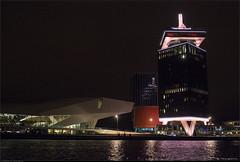 A'DAM toren en het EYE filmmuseum
