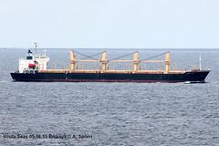 Voula Seas (andreasspoerri) Tags: biskaya bulker destinodos imo9221633 kandakawajiri liberia voulaseas