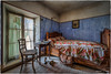 We offer a romantic room without a four poster bed ! (Yamabxl) Tags: france hdr lit decay urbex chambre room bed bedroom creepy derelict dereliction forgotten forbidden ghost highdynamicrange hidden lostplaces prohibed prohibé urbanexploration urbexhdr verfall verlassen verlaten