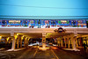 Holiday Train at Thorndale (Andy Marfia) Tags: chicago edgewater cta el l platform redline train holidaytrain holidays christmas d7100 1685mm 150sec f35 iso280