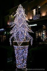 sapin lumineux (David-photopixel-bzz) Tags: décoration lumière extérieur boules sapin noël fête paris canon sigma