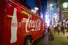 NY (angelolucabarra) Tags: newyork cocacola