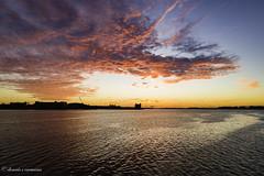 Boston Harbor Brilliant Sunrise (Musikcrayz) Tags: sunrise boston