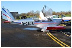 G-CBJR Aerotechnik EV-97A Eurostar (SPRedSteve) Tags: gcjbr shobdon eurostar ev97 ev97a aerotechnik