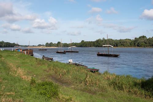 La Loire à Chaumont-sur-Loire