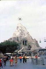 1962 Matterhorn Bobsleds (Tom Simpson) Tags: disney disneyland vintage vintagedisney vintagedisneyland 1962 1960s matterhorn mountain rollercoaster matterhornbobsleds skyway tomorrowland