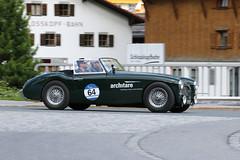 Austin Healey 100-6 BN 4 (1959) (Roger Wasley) Tags: austin healey 1006 bn 4 1959 arlberg classic car rally 2016 lech austrian alps alpine austria europe