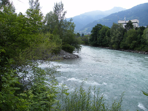 Lienz, A Dráva és az Isel találkozása