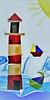 Lighthouse for fusion 27/365 (radleyfreak) Tags: colour glass warm fusion tackfusing bullseye kilnforming technique shapes geometric parallelogram kiln shelves glasscutting warmglass squares windows doors roof smoke grozingpliers runningpliers frits lightbox studio
