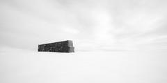 Square Bales (Sandra Herber) Tags: alberta winter minimalism hay bales minimalist
