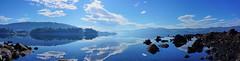 Huon river (RobMacPhotography) Tags: tasmania australia blue river huon fishing mirror tassie point chunder still reflection sky clouds rob mac photography beautiful peacefull panorama