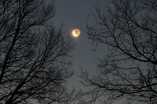 Conjonction Lune Saturne - 20170124