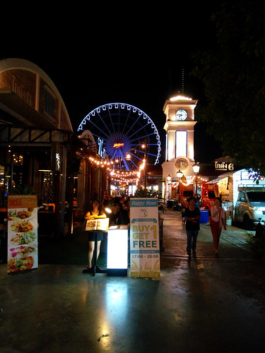 nocture in Asiatique, Bangkok