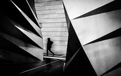 Hoodie (Peter Murrell) Tags: streetphotography londonstreetphotography angles shapes shades shadows walking sculpture