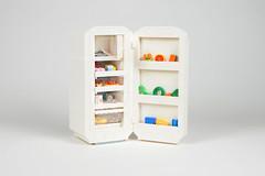 Lego fridge - atana studio (Anthony SÉJOURNÉ) Tags: lego fridge full food afol moc creator atana studio anthony séjourné