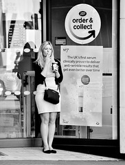 Doesn't Work On Dresses Then ! (jaykay72) Tags: street uk blackandwhite bw london candid streetphotography gracechurchstreet londonist stphotographia