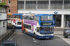 Stagecoach in East Kent, Fleet No.18164, XIL1568. (Gerry A Powell) Tags: bus coach canterbury alexander dennis stagecoach longshot infocus highquality eastkent 18164 alx400 trident2 h4728f gx54dvg xil1568