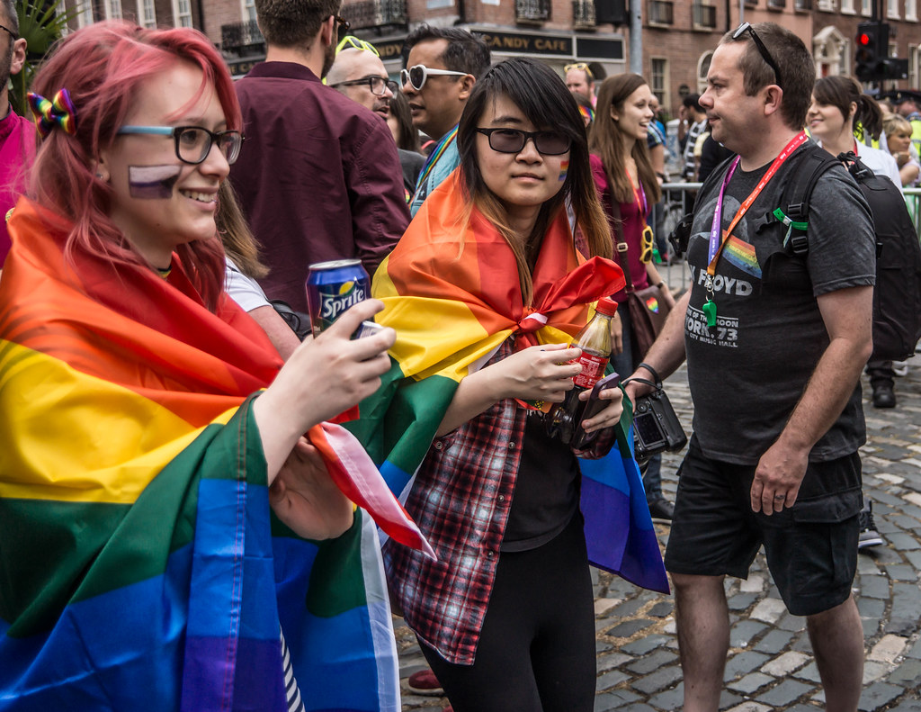 DUBLIN 2015 LGBTQ PRIDE PARADE [WERE YOU THERE] REF-105987
