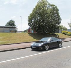 Porsche 996 Turbo (xwattez) Tags: street france car automobile voiture turbo german porsche transports rue 996 2015 véhicule labège allemande
