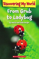 From Grub to Ladybug (Vernon Barford School Library) Tags: new school bug outdoors reading book high reader library libraries reads insects books super bugs read paperback junior ladybug ladybugs pick middle vernon quick grub recent picks qr nonfiction paperbacks grubs lifecycle readers readingmaterial barford softcover quickreads quickread readingmaterials vernonbarford softcovers superquickpicks superquickpick melvinberger gildaberger discoveringmyworld 9780545244541