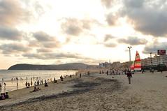 Sunset at RK Beach - Vizag (Navin.Images) Tags: sunset beach andhra seashore vizag visakhapatnam