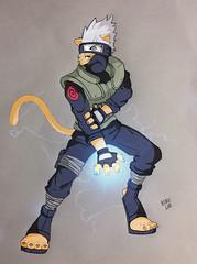 Ka-Cat-Shi (Kory / Leo Nardo) Tags: anime male art digital cat fur furry naruto kakashi anthro koryleo