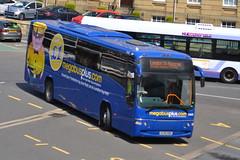 Stagecoach Megabus Volvo B9R 53605 KX58NBN - Huddersfield (dwb transport photos) Tags: volvo coach panther stagecoach huddersfield megabus plaxton 53605 kx58nbn
