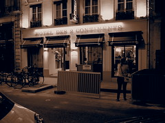 Our hotel in St Germain!