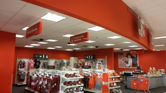 Cash, .com, and Cameras (Retail Retell) Tags: sc retail store neon lexington style signage target latest dcor 2000s p04 t2277 halfremodeled halfbullseye cashcomandcameras