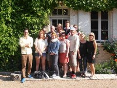 "Swedish Visitors at The Moulin with Lynne Levin • <a style=""font-size:0.8em;"" href=""http://www.flickr.com/photos/133405556@N08/19457996993/"" target=""_blank"">View on Flickr</a>"