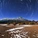 Star Trail vertical