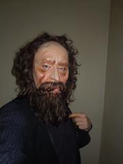 004 (jsidney2012) Tags: france vintage french mask vinyl cesar druid 1970s 1980s fathertime masque madeinfrance brownhair saumur maddoctor soupie cesarmask vinylmask