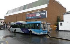Fastrack B at Gravesend (bobsmithgl100) Tags: urban bus eclipse volvo kent wright gravesend avg garrickstreet 3820 b7rle arrivakentthameside gn07avg gn07