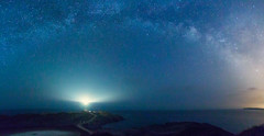 Favritx (eztopo79) Tags: panorama lighthouse canon way stars faro sigma via nocturna milky 1020 far menorca balears lactea favaritx 70d mediterrarean lactia photopills