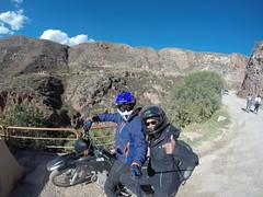 Photo de 14h - A moto aux Salinas de Maras (Pérou) - 21.07.2014
