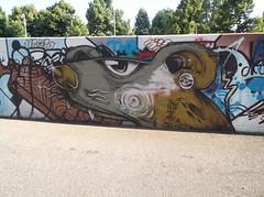 090 (en-ri) Tags: parco muro topo wall writing torino mouse graffiti rat dora cani porco 2015 heta noc4 dilatatore