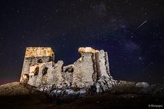 Castillo de la Estrella (Teba, ES) (Manjagui) Tags: castle castillo shootingstar víaláctea estrellafugaz fotografíanocturna nightfotography