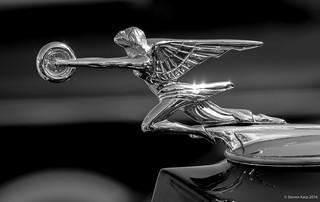 Packard Hood Ornament. Goddess of Speed [Explored] ©Steven Karp, 2015.
