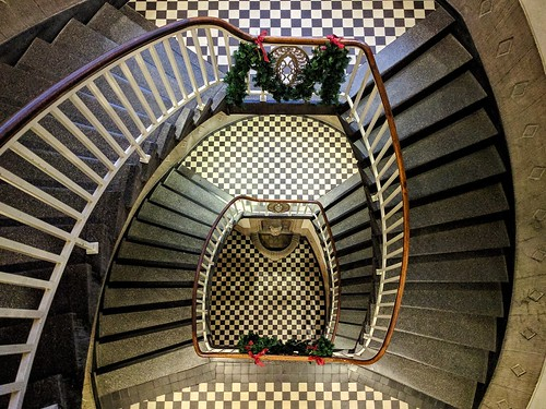 Geometric Staircaise at Altes Rathaus, Menden