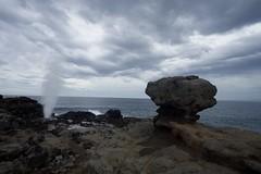 Nakalele Blowhole (gsmper) Tags: maui blowhole water waves sky clouds