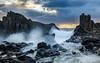 Northern Channel || Bombo {Explore 134, 2016/12/10} (David Marriott - Sydney) Tags: kiamadowns newsouthwales australia au bombo swell seascape ocean nsw illawarra dawn sunrise bravo
