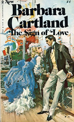 Novel-The-Sign-of-Love-by-Barbara-Cartland (Count_Strad) Tags: novel book pages read reading pulp barbaracartland romance