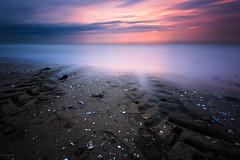 Oblivion (Tony N.) Tags: oblivion oubli beach plage normandie benervillesurmer traces sea mer sky ciel poselongue longexposure d810 nikkor1635f4 vanguard tonyn tonynunkovics