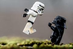 The Force Grip (steved_np3) Tags: starwars star wars lego toy figures stormtrooper stormtroopers vader darth macro