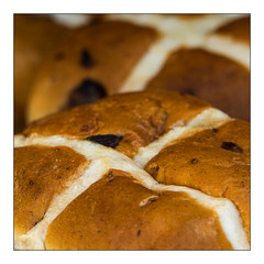 Hot Cross Bun corner { explored 3-1-17 } (c.richard) Tags: macromondays macro corners hotcrossbun
