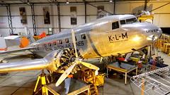 "Douglas DC-2 c/n 1404 registration N39165 as ""PH-AJU"" (sirgunho) Tags: lelystad aviodrome aviation museum airport dda stichting fokker preserved aircraft aeroplane luchtvaart douglas dc2 cn 1404 registration n39165 phaju"