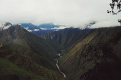 The Sacred Valley of the Incas (e_m_b_r_y) Tags: nature mountain valley river water trees clouds mist adventure travel peru