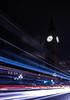 Time passing by (carlosromonbanogon) Tags: 2016 uk fujifilmxt1 london londres england reinounido gb big ben clock tower monument street light traffic travel parliament